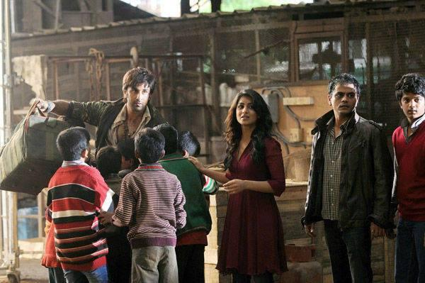 Ranbir Kapoor Dazzling Look On The Sets Of Besharam
