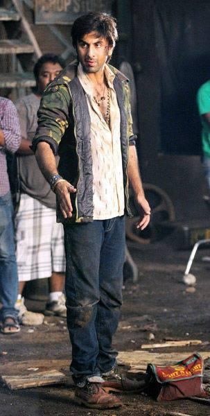 Ranbir Kapoor Stunning Look On The Sets Of Besharam