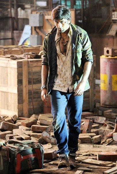 Ranbir Kapoor Walking Pose On The Sets Of Besharam