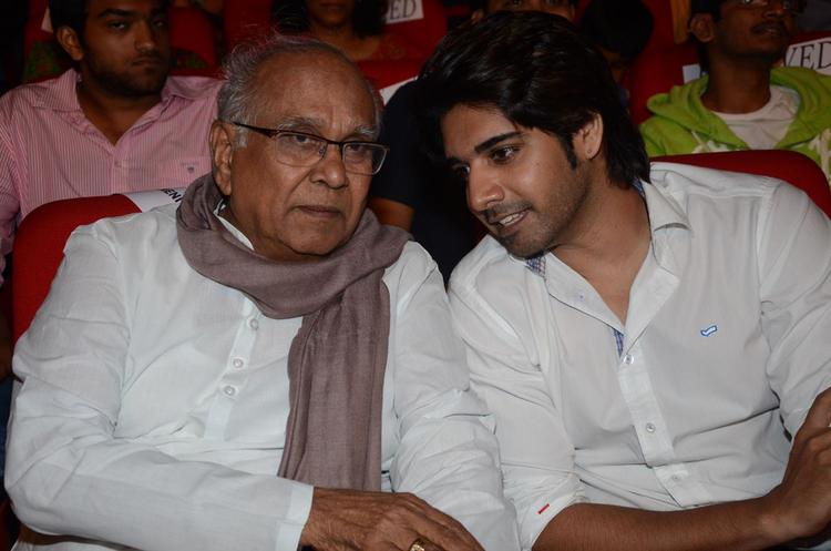 Akkineni And Sushanth During The Adda Telugu Movie Audio Launch Function