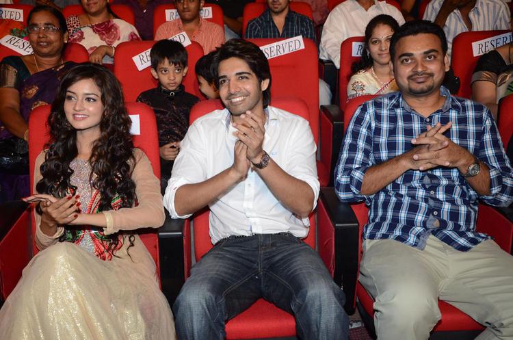 Sushanth And Shanvi Enjoy Adda Telugu Movie Audio Launch Function
