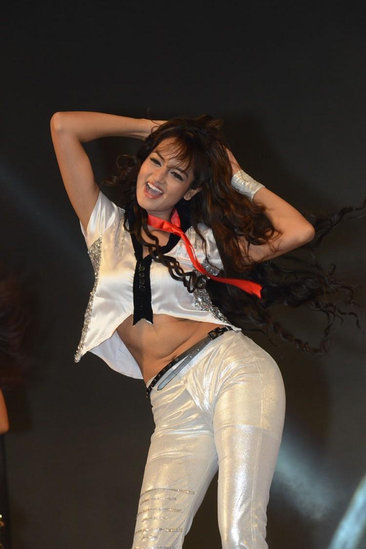 Shanvi Hot Dance Performance At Adda Movie Audio Launch Function