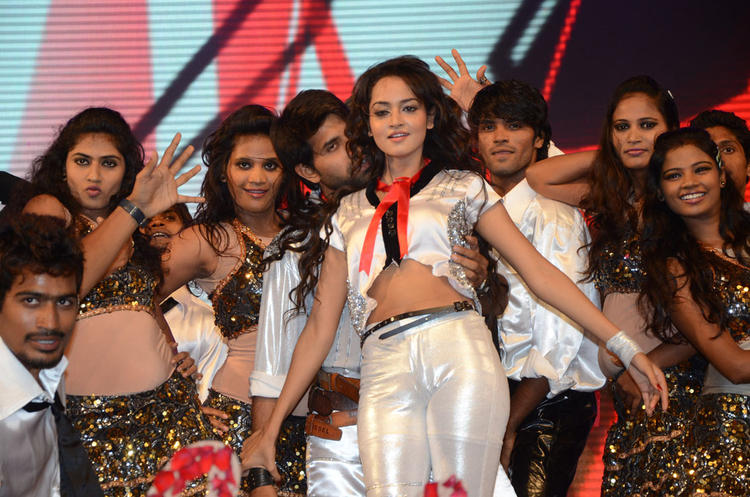 Shanvi Performed With Other Dancer At Adda Movie Audio Launch Function