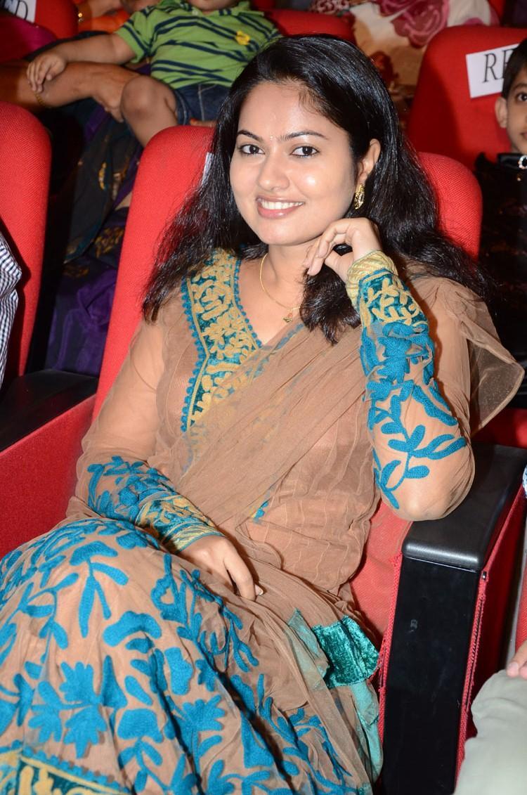 Smiling Suhasini Trendy Look At Adda Movie Audio Release Function