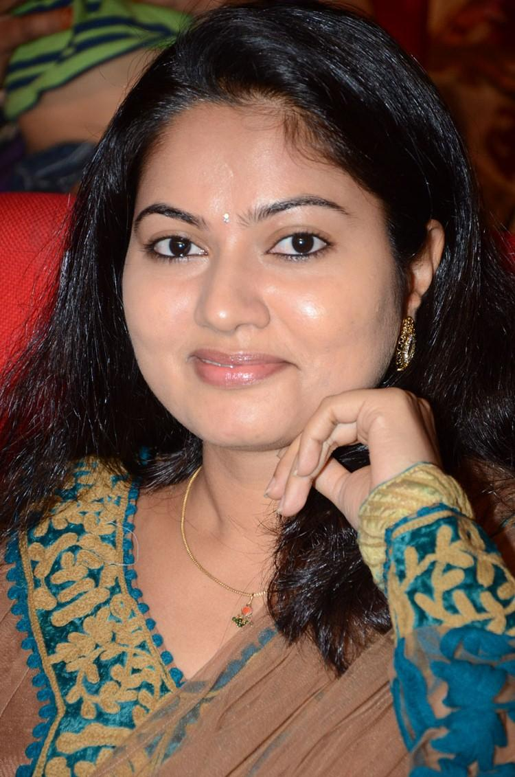 Suhasini Cute Face Look During The Adda Movie Audio Release Function
