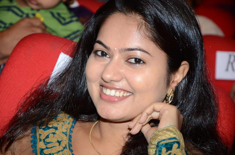 Suhasini Latest Smiling Look At Adda Movie Audio Release Function