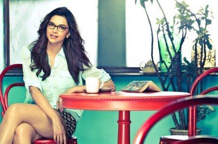 Deepika Padukone Cool Look Photoshoot For Vogue Eyewear