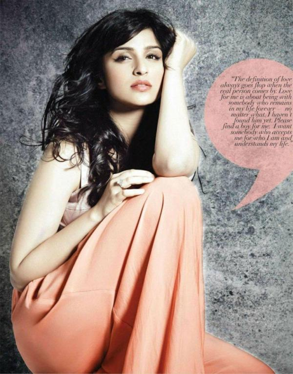 Parineeti Chopra Dazzling Look Photo Shoot For Andpersand Magazine 2013