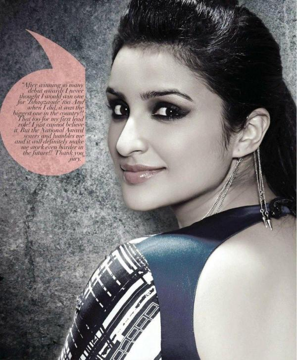 Smiling Parineeti Chopra Hot Eyes Look Photo Shoot For Andpersand Magazine 2013