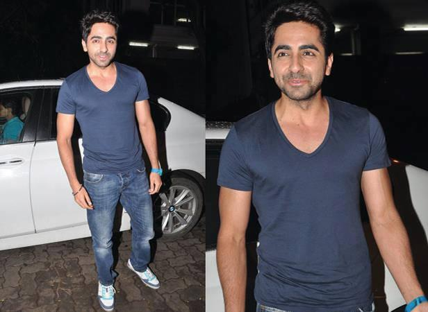 Ayushmann Khurrana Flashes Smiling At Arjun Kapoor Birthday Bash