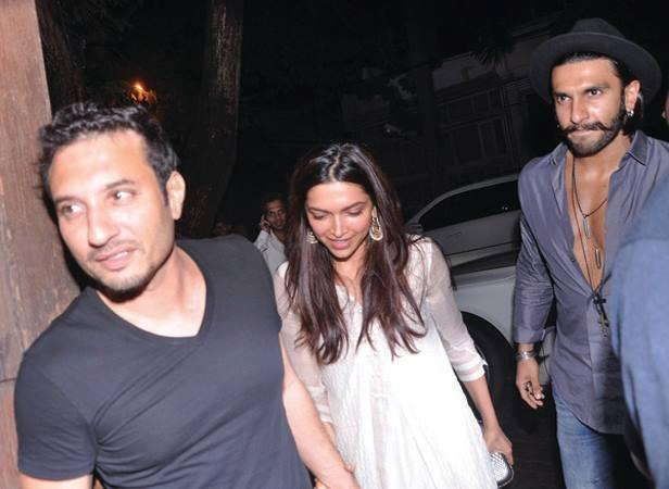 Deepika Padukone And Ranveer Singh Arrives Arjun Kapoor 28th Birthday Bash