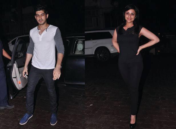 Harsh Kapoor And Parineeti Chopra Clicked At Arjun Kapoor Birthday Bash