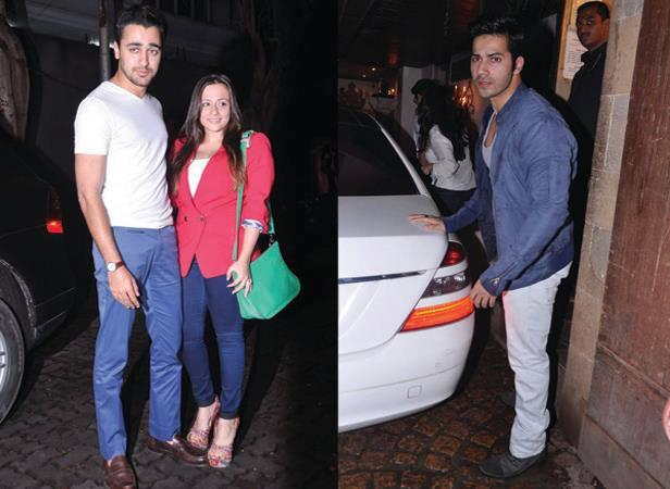 Imran With Wife Avantika And Varun Spotted At Arjun Kapoor Birthday Bash