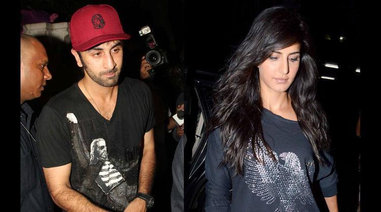 Ranbir And Katrina During The 28th Birthday Bash Of Arjun Kapoor
