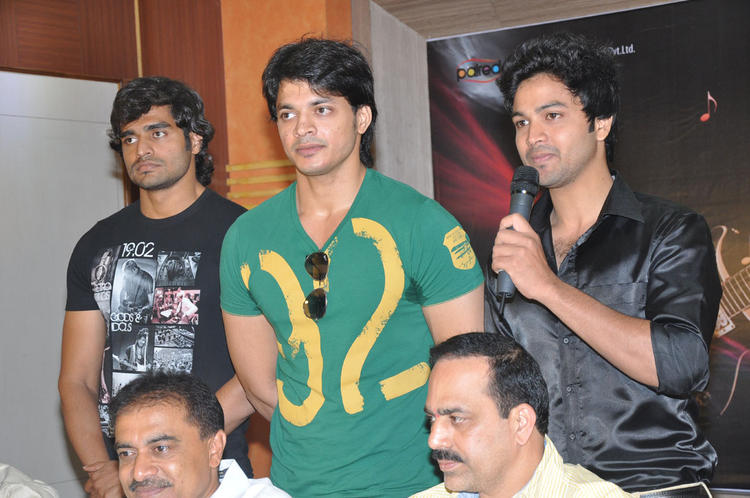 Rahul Graced At Music Masic Movie Logo Launch Function
