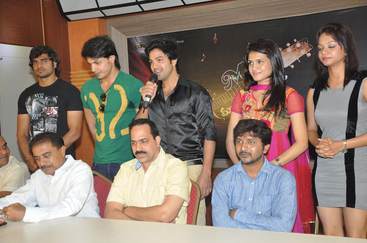 Star Casts Attended The Music Masic Movie Logo Launch Function