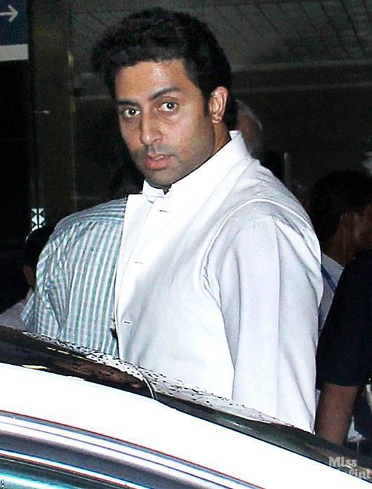 Abhishek Bachchan Snapped At Mumbai Airport