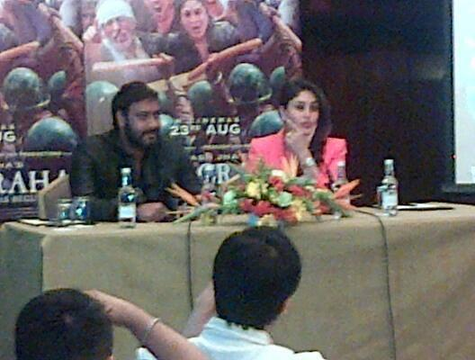 Both Kareena And Ajay Attended The Event At The Taj Hotel In London