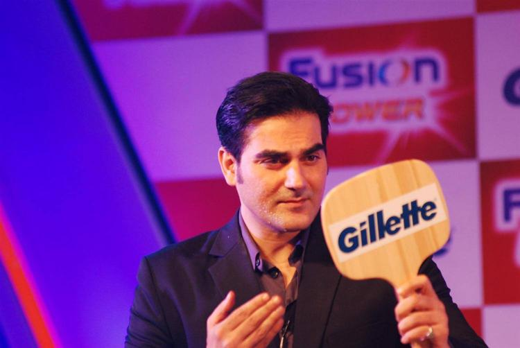 Arbaaz Khan Looking Handsome After Shaving At Gillette Fusion Power Launching Event