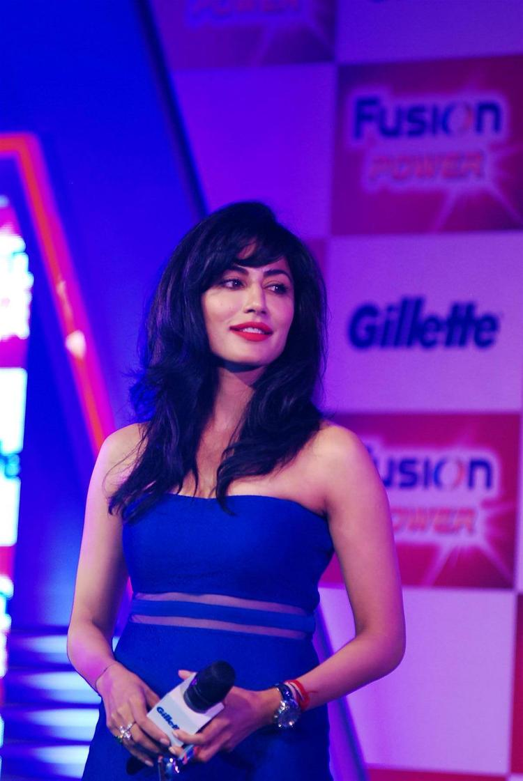 Chitrangada Singh Fashionable Look At Gillette Fusion Power Launching Event