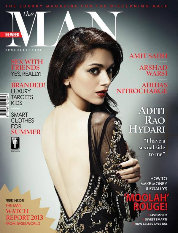 Aditi Rao Hydari On The Cover Of The Man Magazine 2013