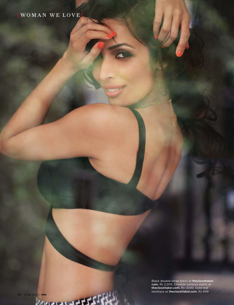 Malaika Arora Khan Hot Bikini Shoot For Mans World June 2013