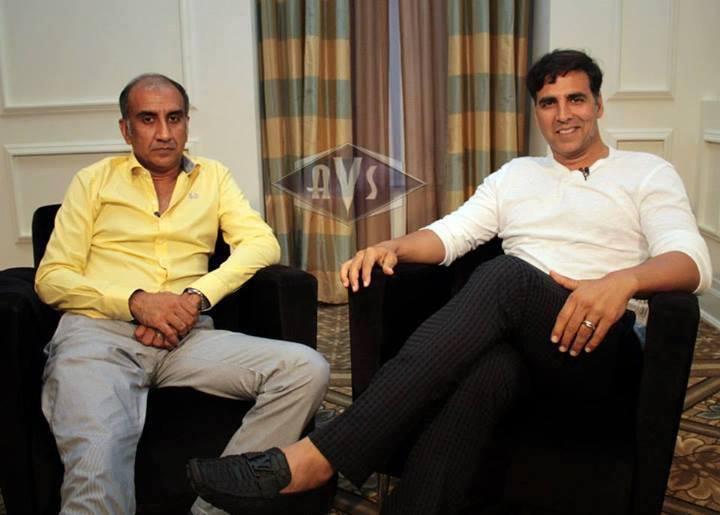 Milhan Luthria And Akshay Kumar At Plaza Press Conference