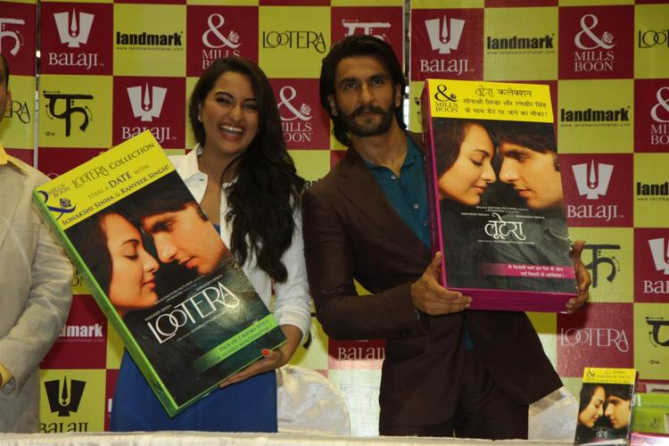 Sonakshi And Ranveer Launched The Lootera Movie Mills And Boon