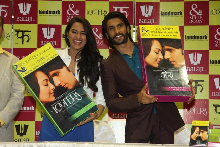 Sonakshi And Ranveer On Special Edition Mills And Boon Cover To Promote New Movie  Lootera