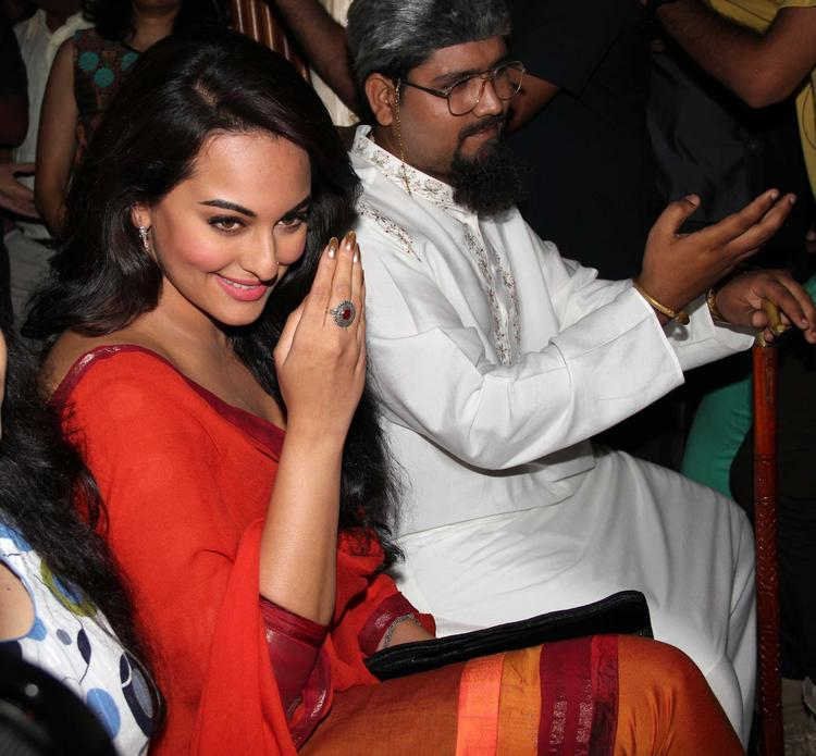 Sonakshi Snapped To Launch Evergreen Song Tayyab Ali Pyaar Ka Dushman