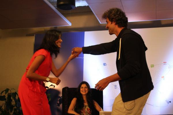 Hrithik Roshan Dance Still During The First Look Launch Of Krriss 3
