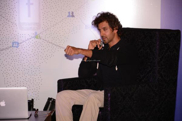 Hrithik Roshan At The Launch Of First Look Of Krrish 3