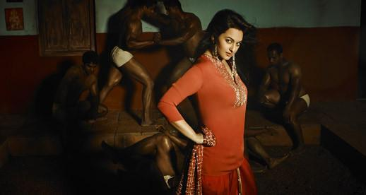 Sonakshi Sinha Dazzling Hot Look Photo Shoot For July 2013 Edition