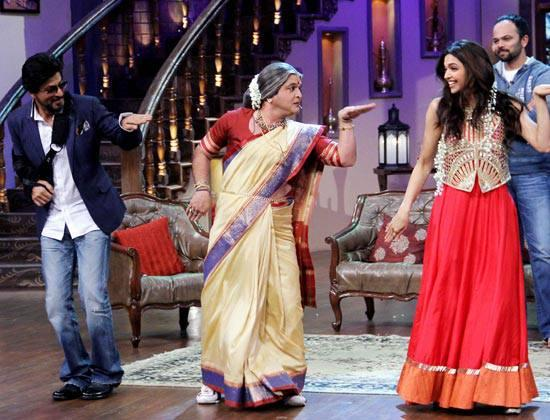 SRK,Ali And Deepika Shook Legs On The Set Of Comedy Nights With Kapil