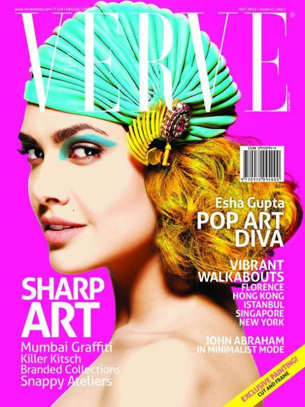 Esha Gupta In Valliyan By Nitya Arora On Verve July 2013