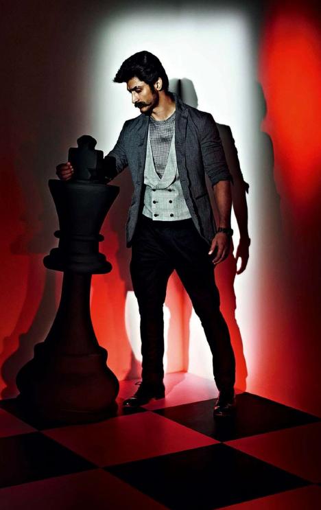 Vidyut Jamwal Cool Photo Shoot For GQ India Magazine July 2013