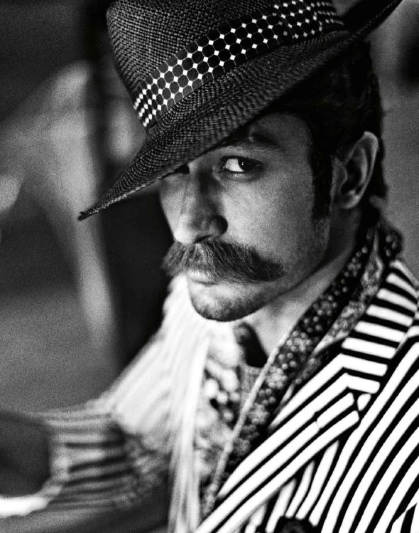 Vidyut Jamwal Hot Eyes Look Photo Shoot For GQ India Magazine July 2013