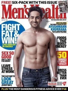 Ayushmann Khurrana On The Cover Of Men's Health