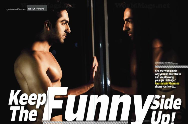 Ayushmann Khurrana's Full Photoshoot From Men's Health July