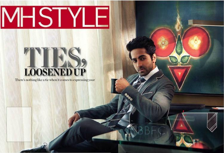 Men's Health Magazine July 2013 Ayushmann Khurrana Latest Pic