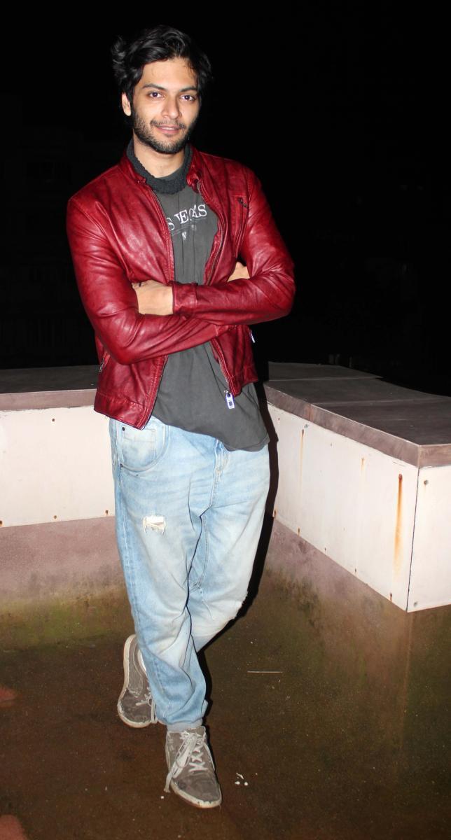 Ali Fazal Snapped At Fukrey Movie Success Party
