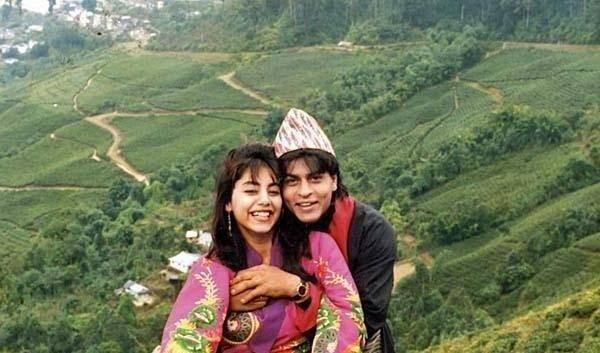 SRK And Wife Gauri Honeymoon Picture