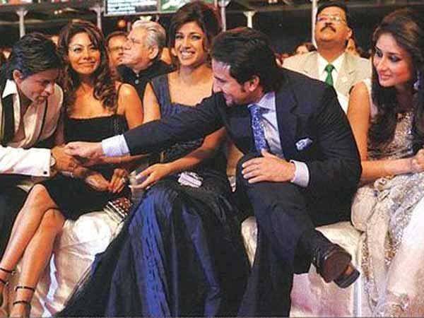 Touchy Moments Of SRK And Saif Photo Still