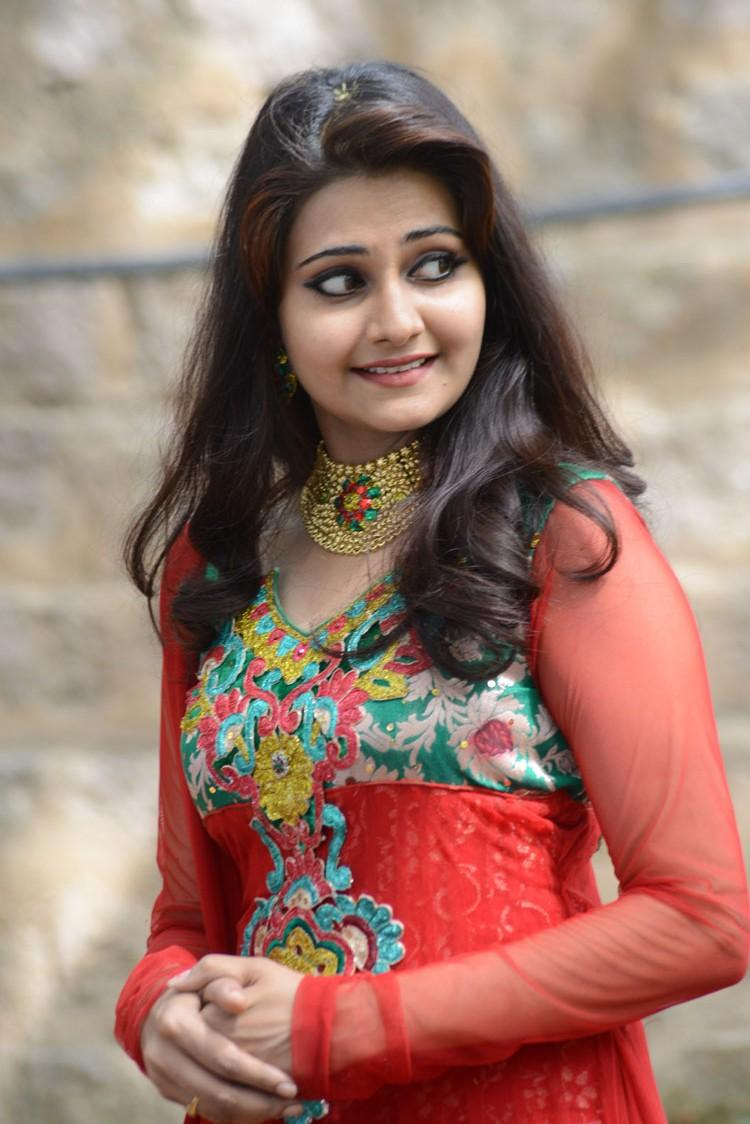 Mano Chitram Pretty Look During Malligadu Marriage Bureau Movie Launch Event