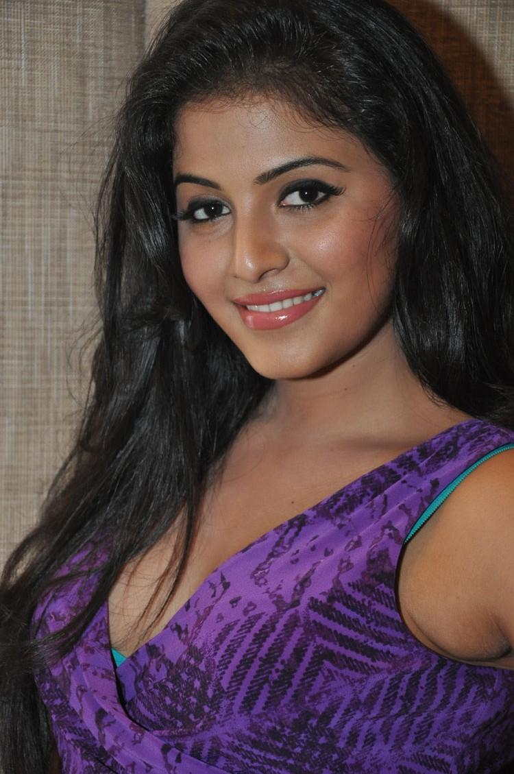 Gorgeous Hot Anjali At The Success Meet  Of Balupu