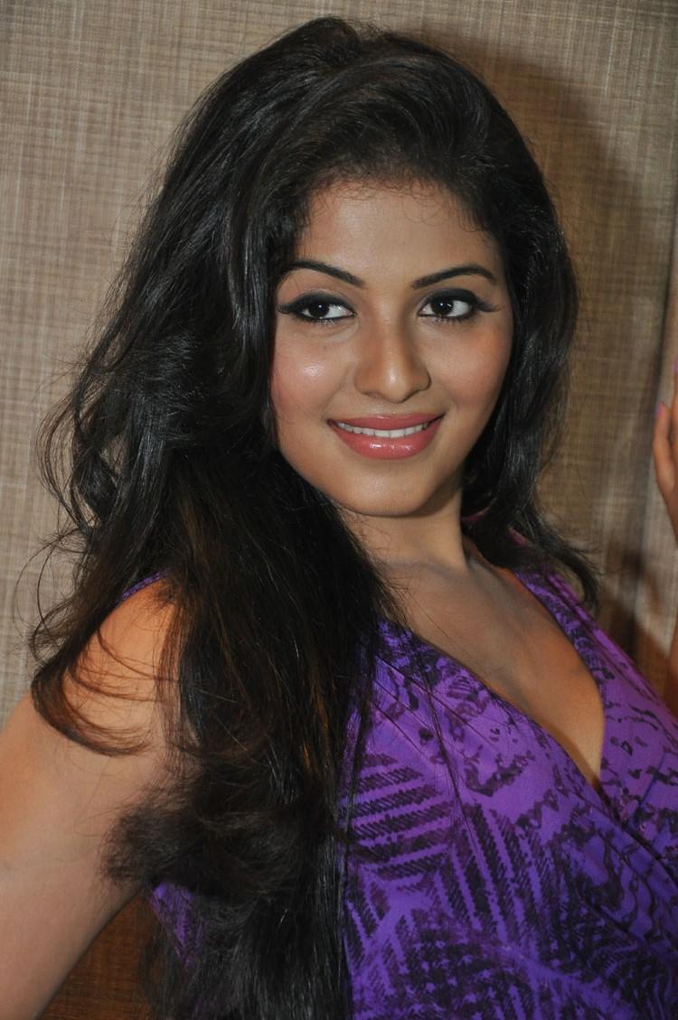 Hot Anjali Strikes A Pose At Balupu Movie Success Meet