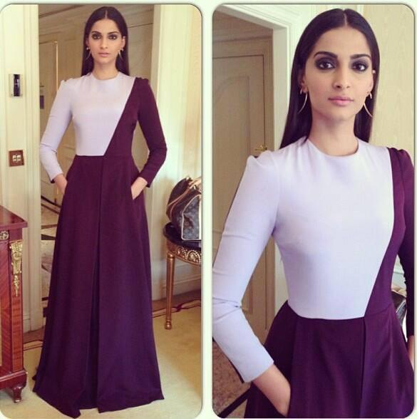 Sonam Kapoor Looks Amazing In This Gown During The BMB Promotion Event