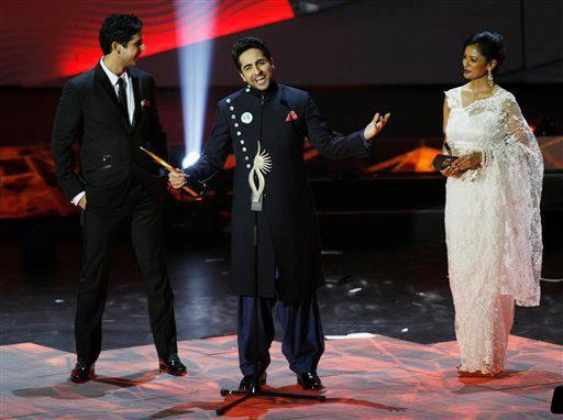Ayushmann Khurana Won The Best Debut Male At The IIFA Awards For Vicky Donor
