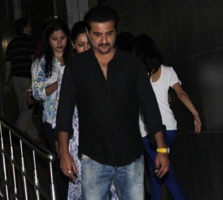 Sanjay Kapoor Arrives To Meet Hrithik Roshan After His Surgery