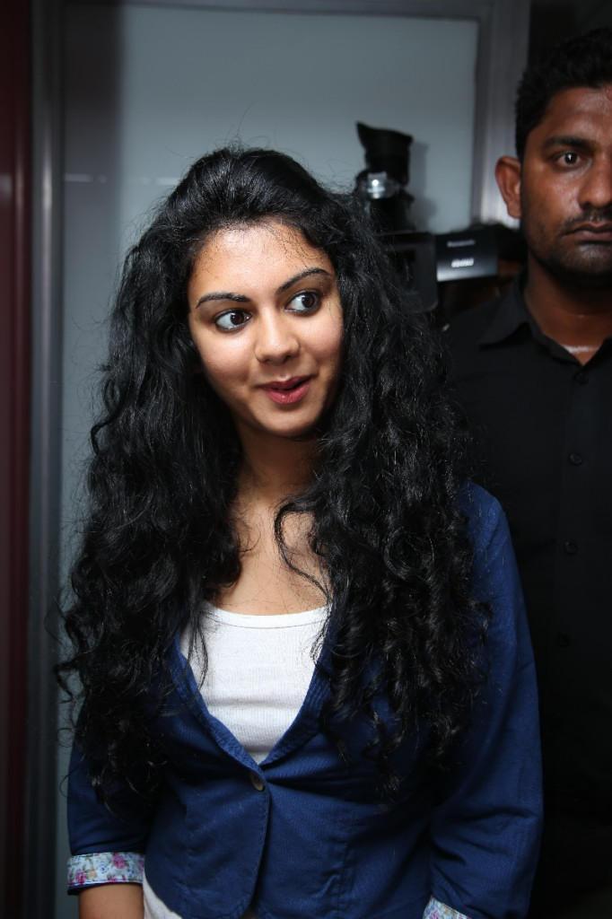 Kamna Jethmalani Cute Look Still Durung Naveena Clinic Launch